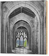 Stone Archways Wood Print