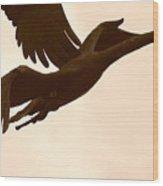 Stone Birds Wood Print