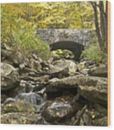 Stone Bridge 6063 Wood Print