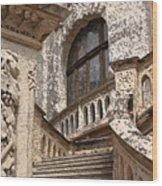 Stone Buildings In Majestic Monaco Wood Print