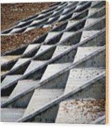 Stone Carpet Wood Print
