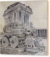 Stone Chariot Wood Print