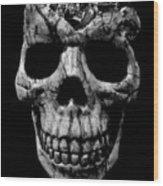 Stone Cold Jeeper Skull No. 1 Wood Print