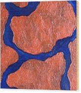 Stone Edge Iv Wood Print