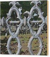 Stone Fence Wood Print