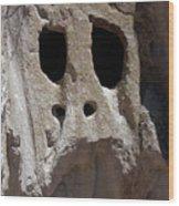 Stone Ghoul Wood Print