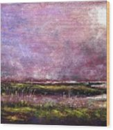 Stone Harbor Morning Wood Print by Peter R Davidson