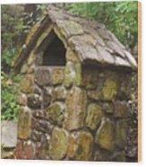 Stone Hut Wood Print