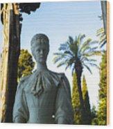 Stone Lady Of Rio Wood Print