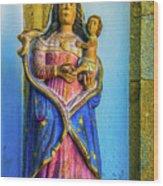 Stone Madonna Wood Print