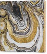 Stone Prose Wood Print