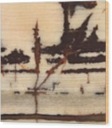 Stone Vision Corral - B Wood Print