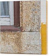 Stone Window Of Portugal Wood Print