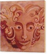 Stone Woman Wood Print