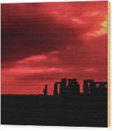 Stonehenge II Wood Print