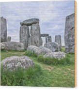 Stonehenge In England Wood Print