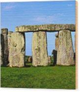 Stonehenge No 2 Wood Print