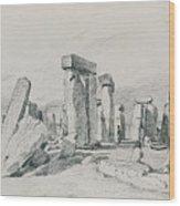 Stonehenge Wiltshire Wood Print