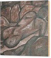 Stoneman Wood Print