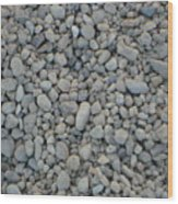 Stones Texture Wood Print
