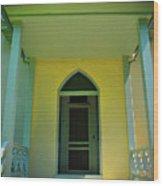 Stonewall Door Wood Print