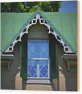 Stonewall Window Wood Print