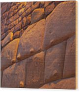 Stonewalled  Wood Print