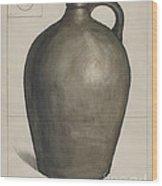 Stoneware Jug Wood Print