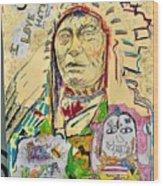 Stoney Chief  Wood Print