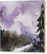 Stoney Creek Wood Print