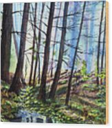 Stoneybrook Wood Print