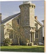 Stonington Lighthouse Wood Print