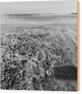Stony Beach Wood Print