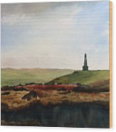 Stoodley Pike Wood Print