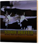 Stoofdriver Cover Wood Print
