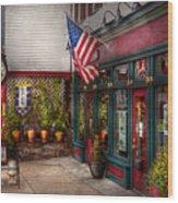 Store - Flemington Nj - Historic Flemington  Wood Print