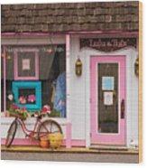 Store - Lulu And Tutz Wood Print