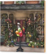 Store - Strasburg Pa - Petals And Beans Wood Print