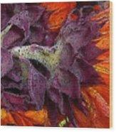 Store Flower Wood Print