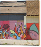 Store Front Art Wood Print by David Kyte