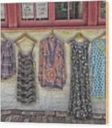 Store Is Closing. Open Thurs - Sun Wood Print