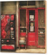 Store - Waterford Va - General Store Wood Print