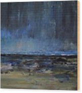 Storm At Sea IIi Wood Print