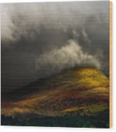 Storm Brewing Over Hawkshead Wood Print