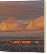 Storm Clearing Wood Print