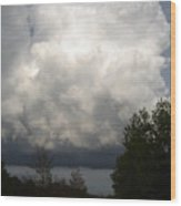Storm Cloud 2 Wood Print