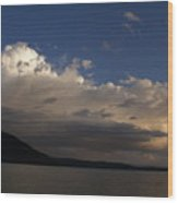 Storm Cloud Over Shadow Mountain Lake II Wood Print