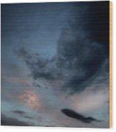 Storm Cloud Wood Print