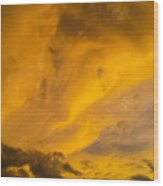 Storm Clouds 3 Wood Print