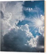 Storm Clouds Wood Print by Adnan Bhatti